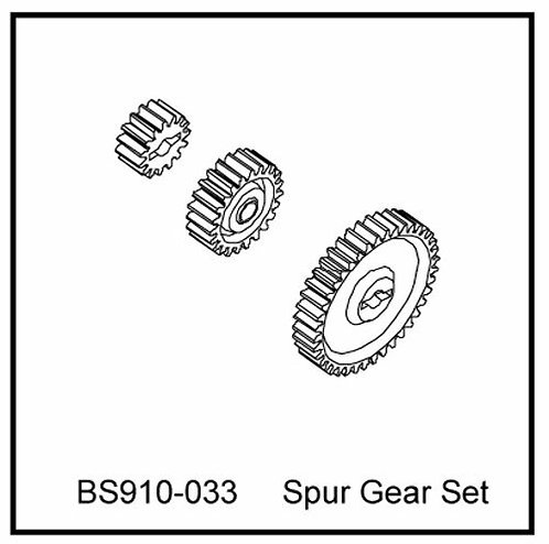 Spur gear set - BS910-033 - Rcbilen.no