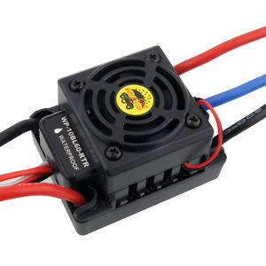 BRUSHLESS ESC 60A WATER PROOF Dean/T-plugg - Rcbilen.no