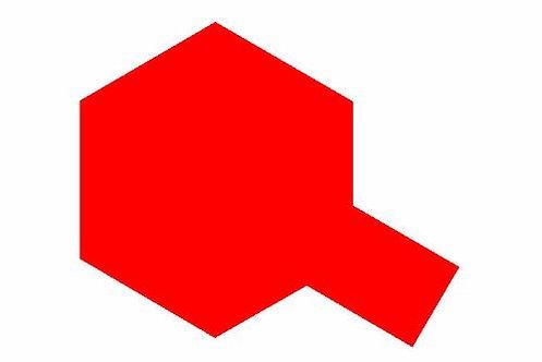 PS-34 Bright red. Polycarbonate Spray Tamiya 86034.