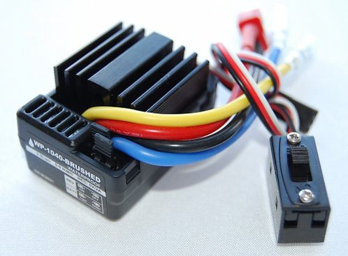 Waterproof ESC Brushed 1/10 Deans plugg - Rcbilen.no