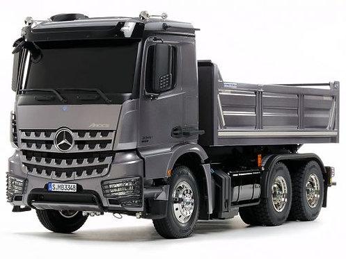 MERCEDES BENZ AROCS 3348 – 6X4 TIPPER TRUCK - Tamiya 56357 - Rcbilen.no
