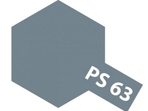 PS-63 Bright Gun Metal. Polycarbonate Spray Tamiya 86063 - Rcbilen.no