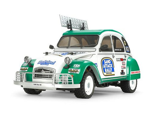 Citroen 2CV Rally (M-05RA) Tamiya 58670 - Rcbilen.no