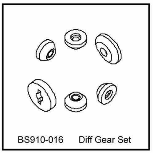 DIFF Gear set - BS910-016 - Rcbilen.no