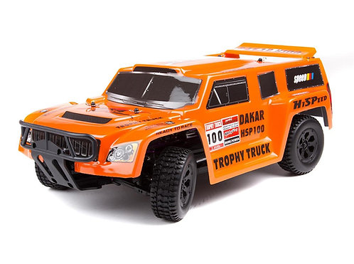 HSP Trophy Truck 1:10 Brushless - Rcbilen.no