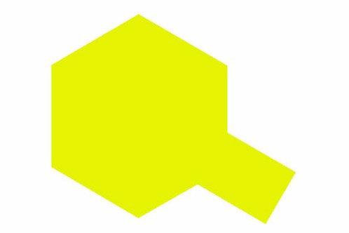 PS-27 Fluorescent Yellow. Polycarbonate Spray Tamiya 86027 - Rcbilen.no