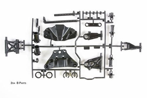 TT-02 B-parts Suspension arms Tamiya 51528 - Rcbilen.no