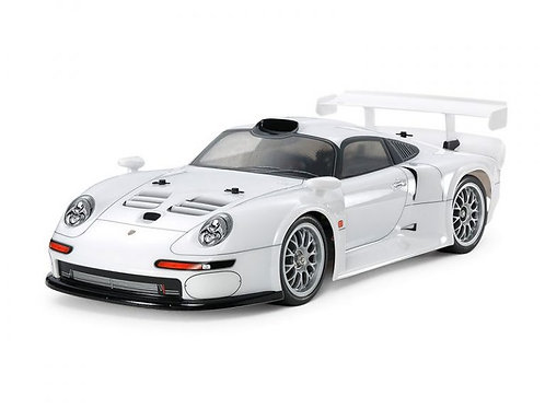 PORSCHE 911 GT1 STREET 1996 TA03R-S - Tamiya 47443 - Rcbilen.no