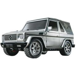 MERCEDES G320 SILVER PAINTED - Tamiya 58635 - Rcbilen.no