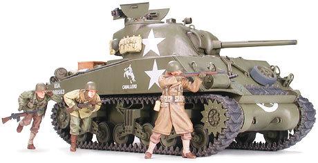 M4A3 SHERMAN 75MM GUN LATE Tamiya 35250 - Rcbilen.no