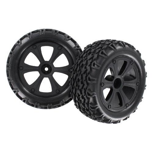 Wheels/Tyres glued for Dune racer BS214-009 - Rcbilen.no