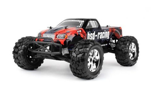 BSD 1/10 MONSTER TRUCK BRUSHED - Rcbilen.no