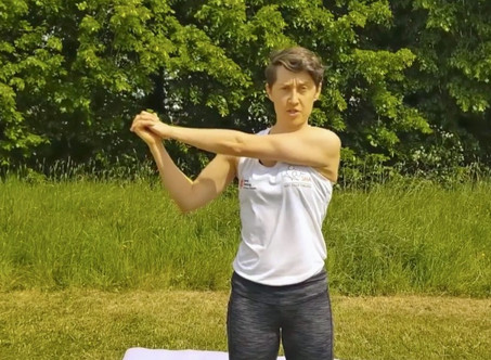 DYNAMIC STRETCHES FOR WRISTS AND ARMS