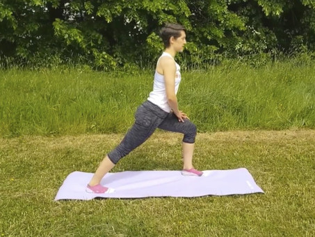 DYNAMIC STRETCHING FOR THE LOWER LEG AND FOOT MUCLES