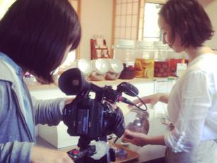 テレビ東京さんに取材していただきました♪