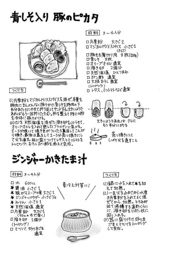 イラスト  (15)青しそ入り豚のピカタ.jpg