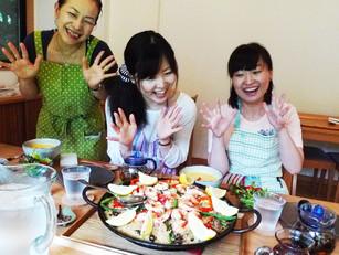 最近の漢方ごはんお料理教室の様子♪