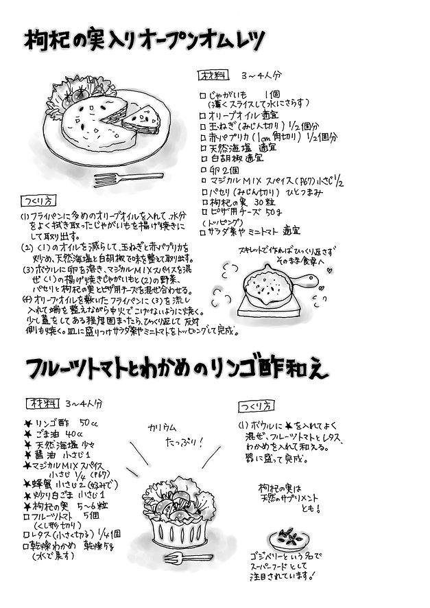 イラスト  (7)枸杞の実入りオープオムレツ.jpg