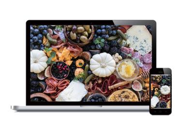 Custom Catering Website