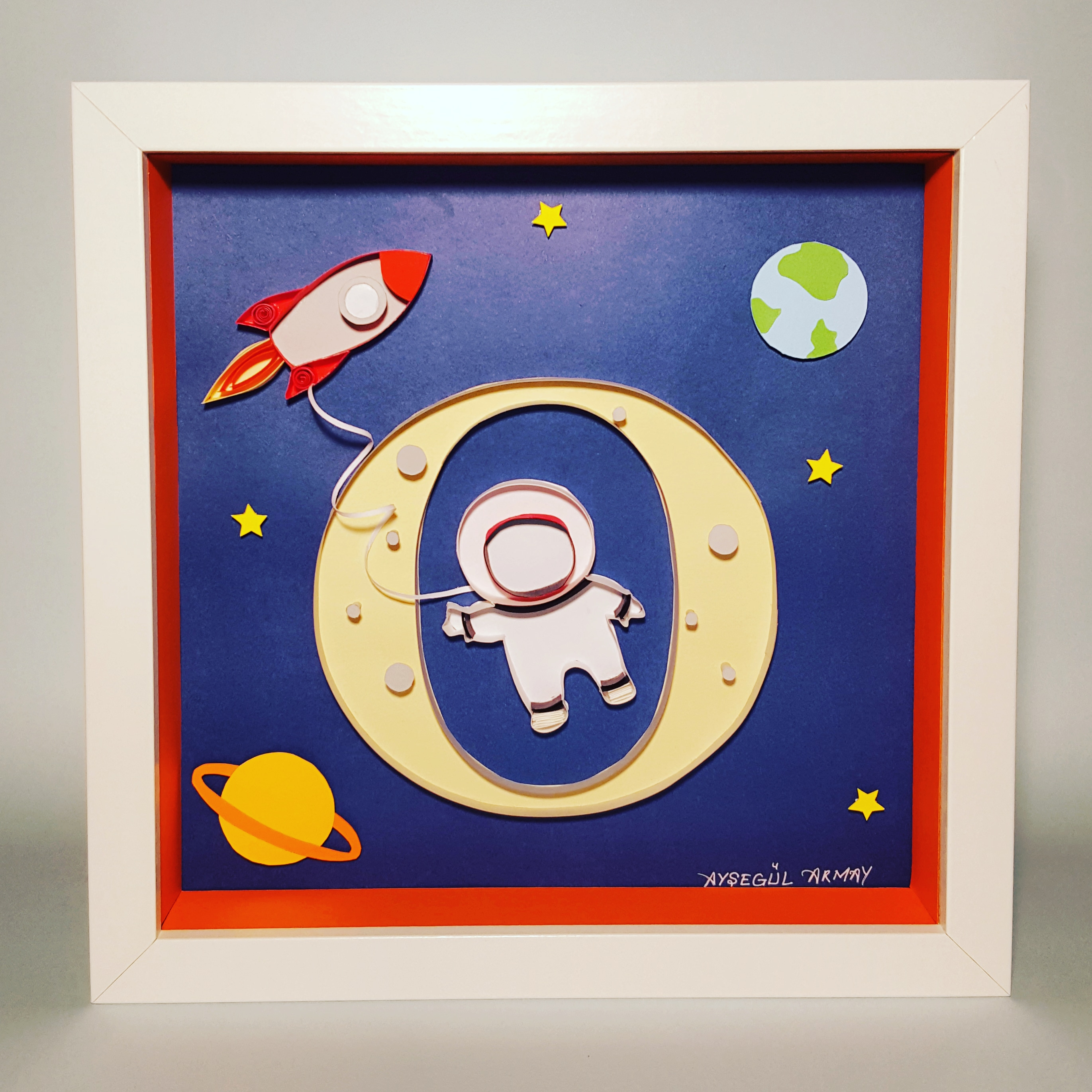 Space / paper art