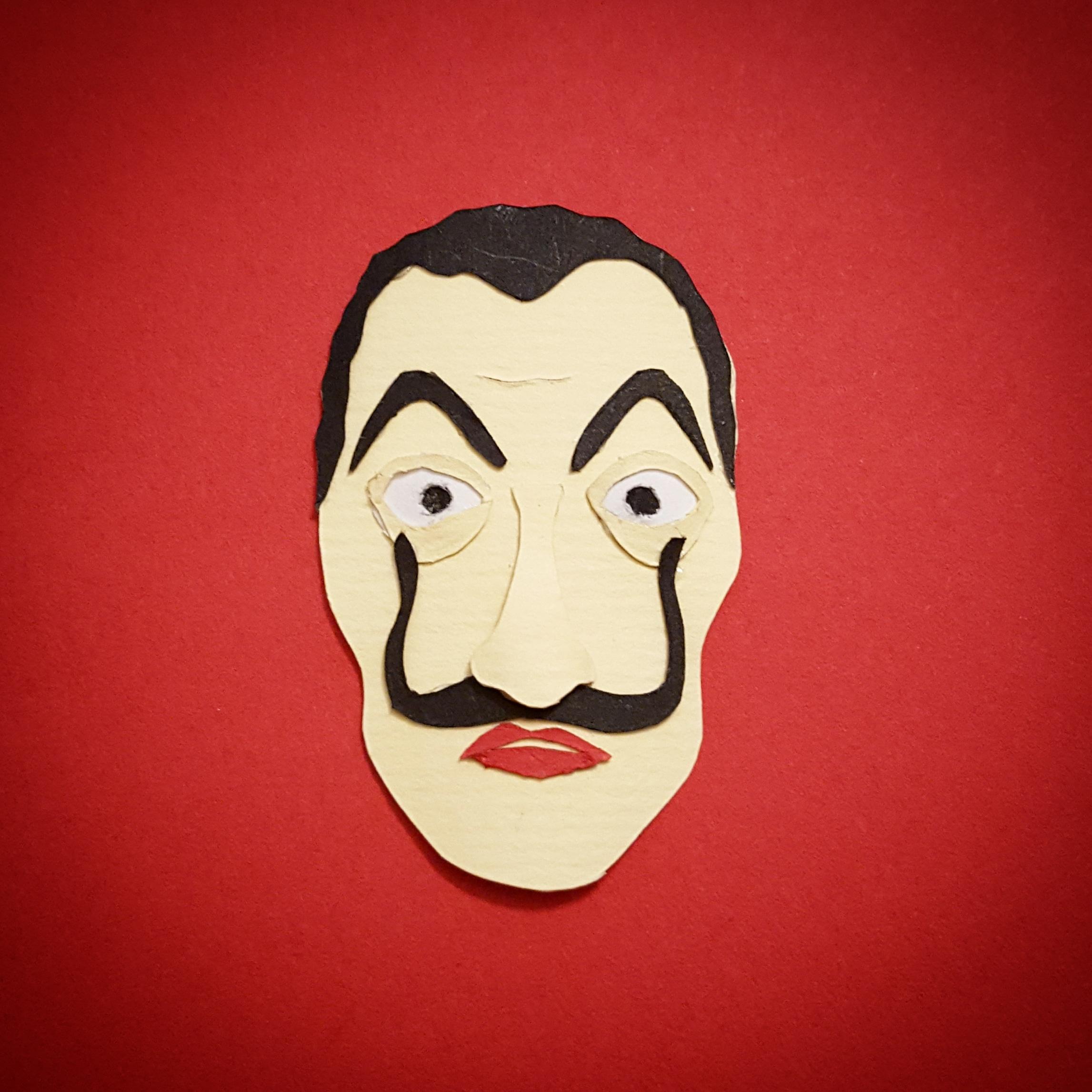 Mask / paper art