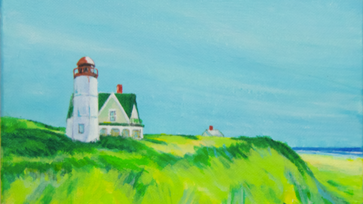 Green Roof Lighthouse