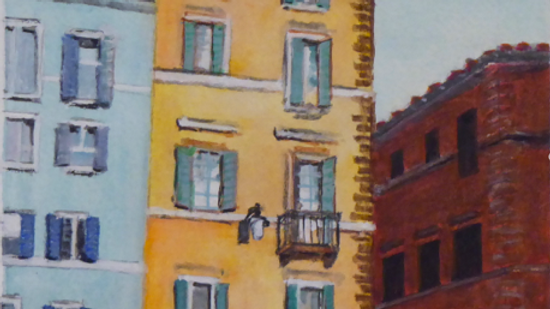 White Umbrellas Rome
