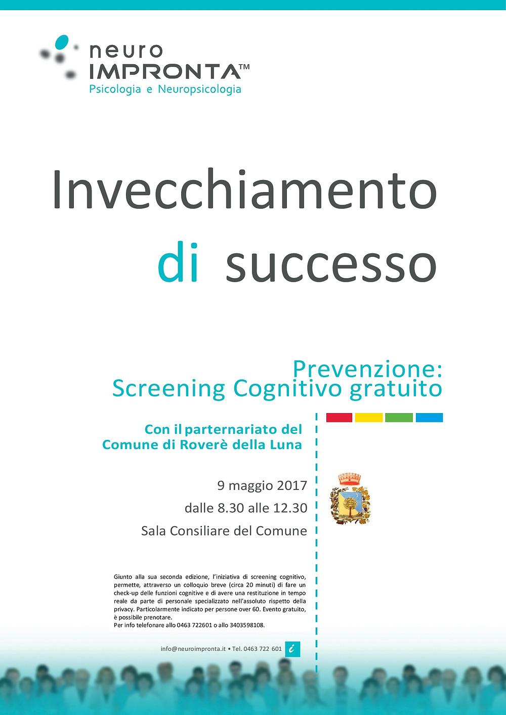 Screening cognitivo neuroimpronta