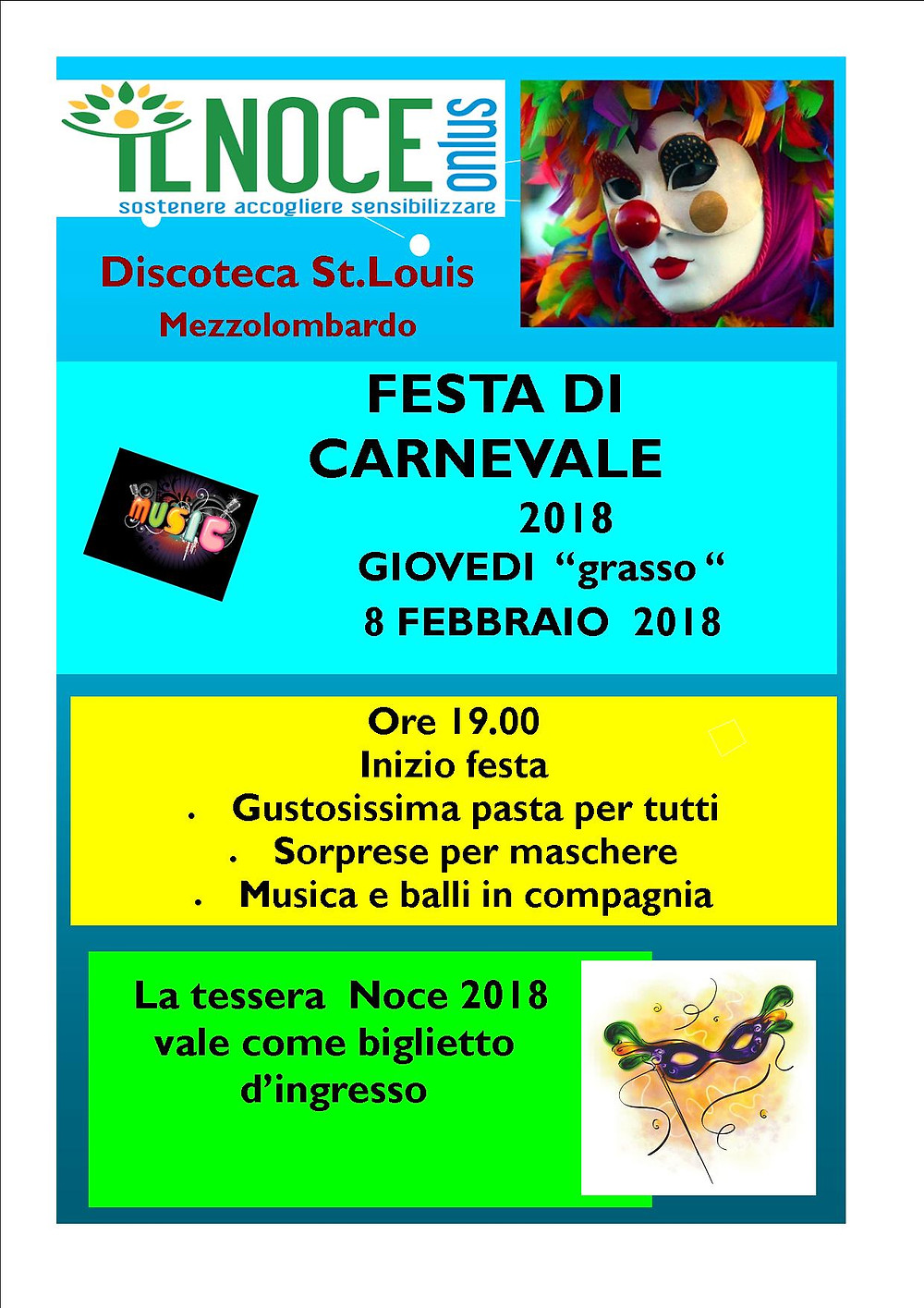 Carnevale Mezzocorona 2018