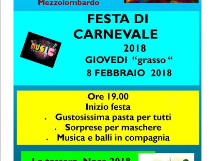 Carnevale: una festa che vale!