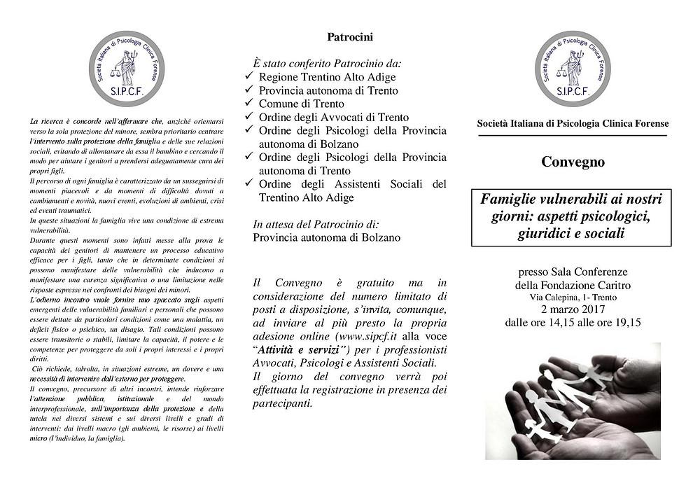Psicologia giuridica Trento