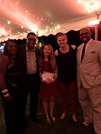 With Herbie Hancock and Christian