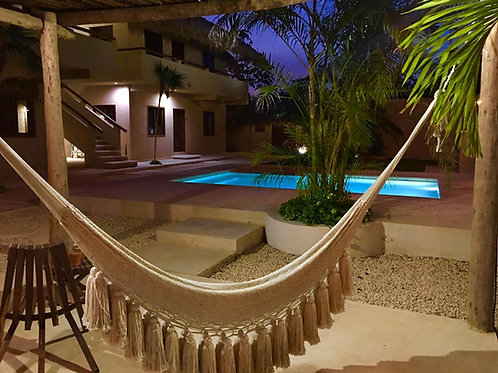 Residential Complex  of 4 apartments in front of Riviera Tulum
