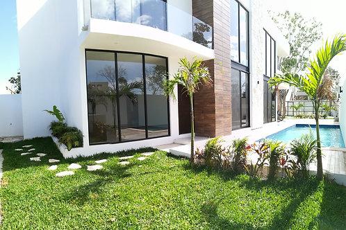 New Villa, region 15, Tulum. 200 sqm, 3 Bedrooms,  Living, pool - MVV15
