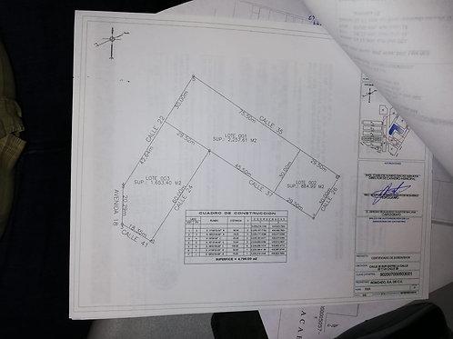 Region 7, mzn 503, Tulum. Lot 1, 1653 sqm. Lot 2 2257 sqm.