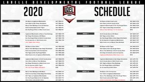 LDFL 2020 Schedule