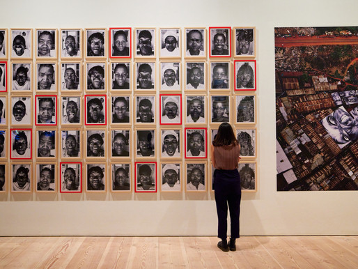 JR: CHRONICLES, THE ESSENTIAL EXHIBITION OF THE YEAR AT LONDON'S SAATCHI GALLERY
