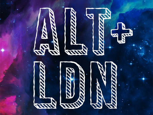ALT + LDN - THE EVENT OF THE SUMMER IN LONDON! Tickets out today!
