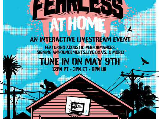FEARLESS AT HOME! SATURDAY 9TH MAY - RAISING MONEY FOR CREW NATION
