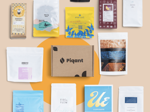 Getting up with Piqant's coffee