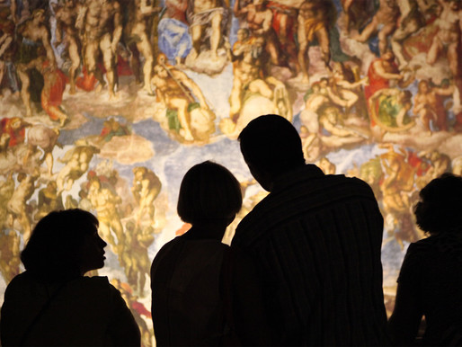 An Up-Close, Life-Sized  Perspective of Michelangelo's Sistine Chapel has just opened in London