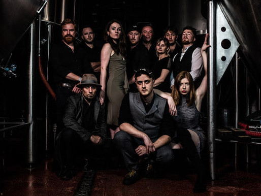 DUTTY MOONSHINE BIG BAND - Release 'Tommy & Loretta' Single + Animated Video