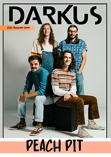 Showcase Series Front Cover - Peach Pit