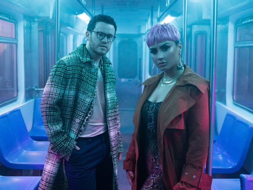 SAM FISCHER AND DEMI LOVATO SHARE VIDEO FOR 'WHAT OTHER PEOPLE SAY'