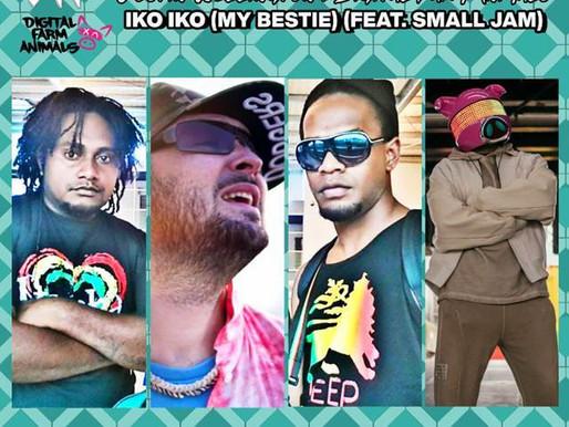 Justin Wellington & Digital Farm Animals - Iko Iko (My Bestie) ft Small Jam