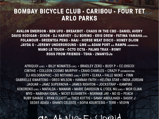 LOST VILLAGE announces CARIBOU, BOMBAY BICYCLE CLUB, FOUR TET, ARLO PARKS + more for 2021 edition