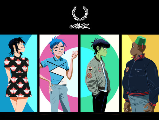 Fred Perry x Gorillaz Collab Collection Released 20th May 2021