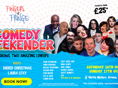 All-star heavyweight comedy festival heads to Newcastle for a hilarious weekend