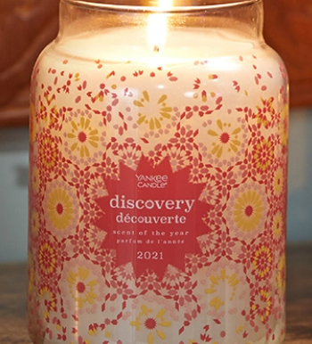 Yankee Candle releases the third annual Scent of the Year: Discovery