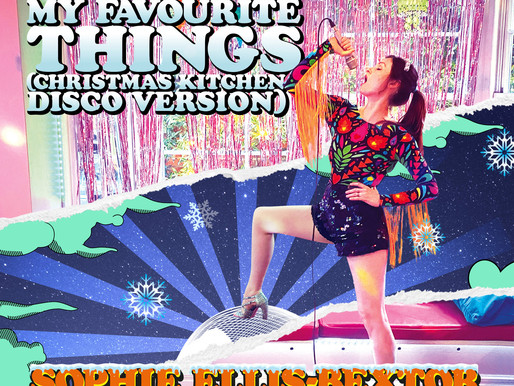 Sophie Ellis-Bextor shares 'My Favourite Things (Christmas Kitchen Disco Version)'